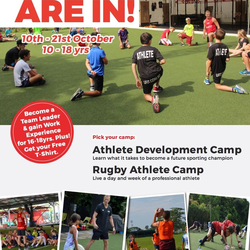 UFIT Athletic Development and Rugby Camps - October 2016