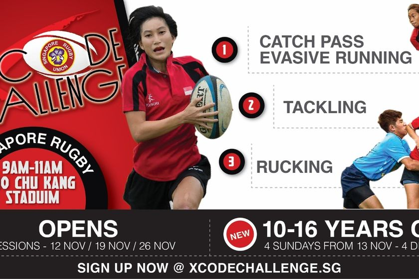 Introductory 7s Clinic for Girls Contact - 10 - 16 years