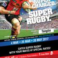 Super Rugby 2017 - PROMO CODE - TANGLIN