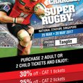 Super Rugby 2017 - PROMO CODE - TANGLIN