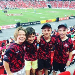 TRC at the Singapore 7s 2017