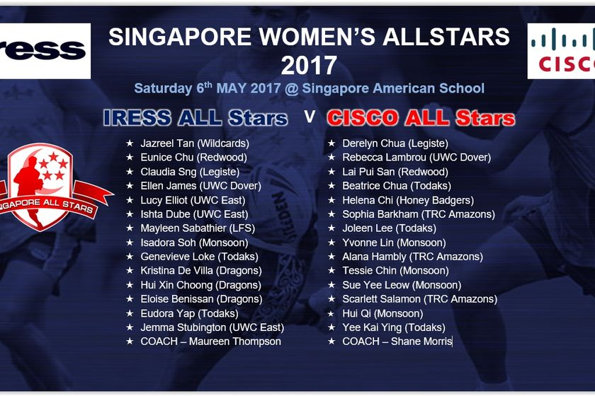 Singapore Women's All Stars 2017 Announced