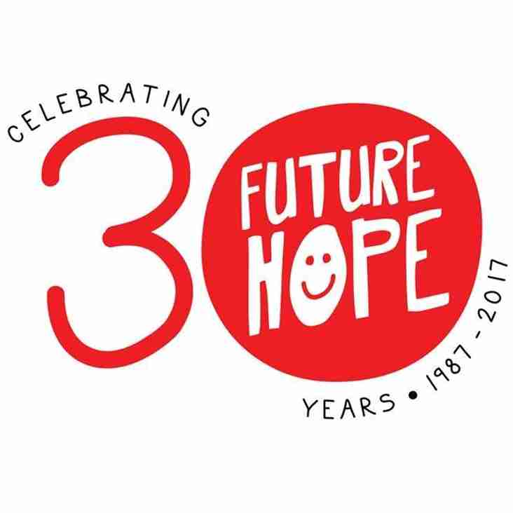 TRC and Future Hope Charity - Bringing a team from India to play in the TRC Cup