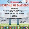 JRCS Singapore Life FESTIVAL OF NATIONS - Saturday 9th December