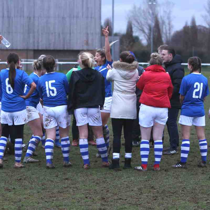 Ladies 1 v 0 Herne Bay 25nov18