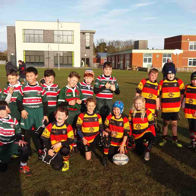 Under 9s - Waterloo & Lymm  27th November 2016