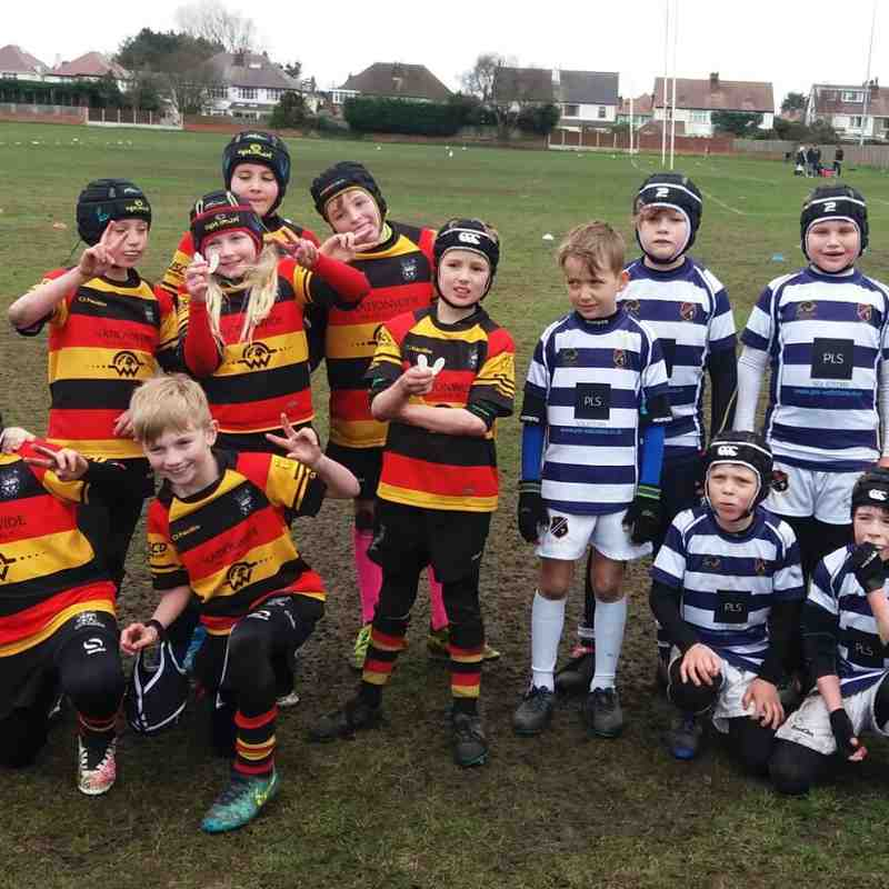 Win, Win, Win at the Newport Festival Triangular for the Under 9s!!