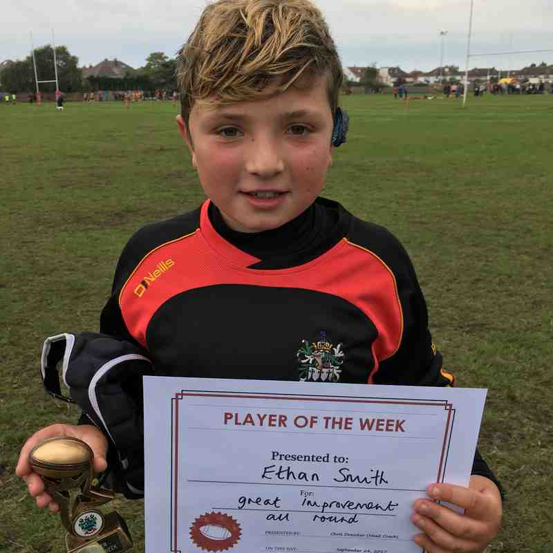 Player of the Week - Ethan Smith