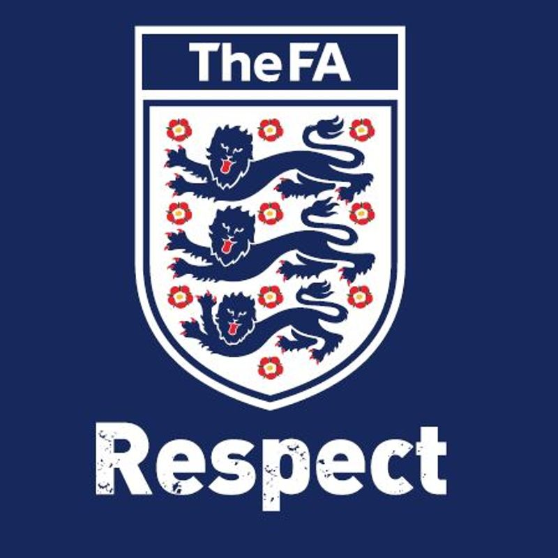 Don't forget to play your part and observe The FA's Respect Code of Conduct.