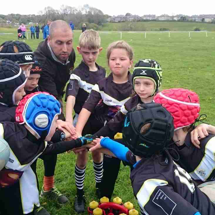 Match Report - Wyke U9s v Greetland Allrounders U9s
