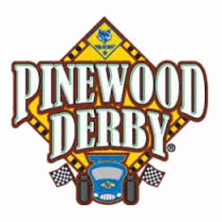 Pinewood Derby Race Night