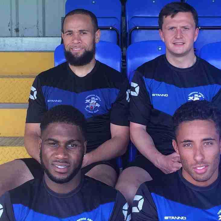 Four new signings begin pre-season training