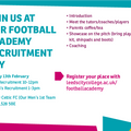 Leeds City College Football Academy Recruitment Day