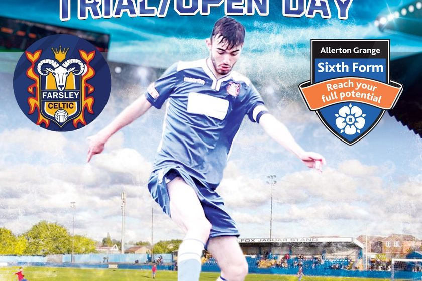 Farsley Celtic Academy 2019/20 Trial & Open Day Announced