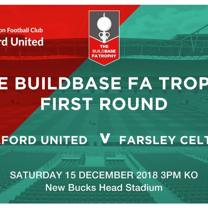 Match Preview:  AFC Telford United v Farsley Celtic<