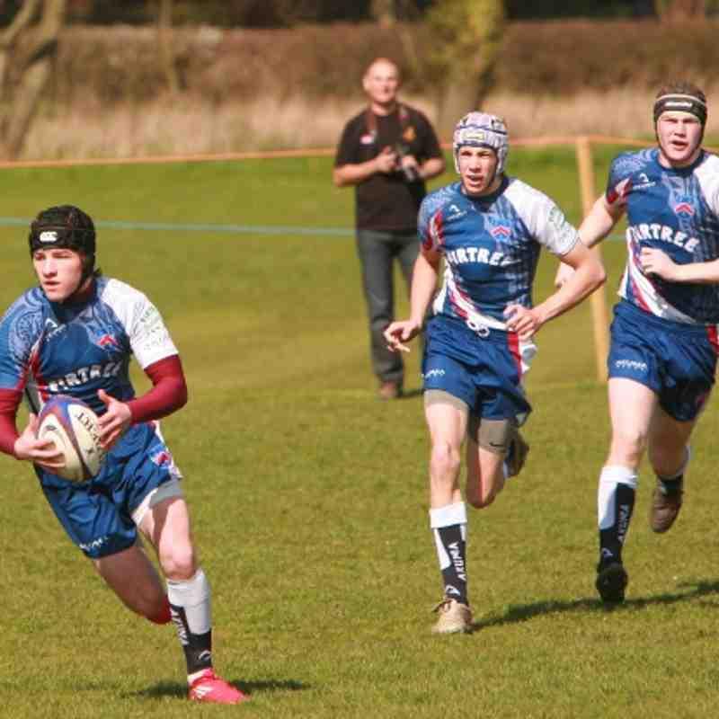 Wirral Junior Colts V Heath 1st April 2012