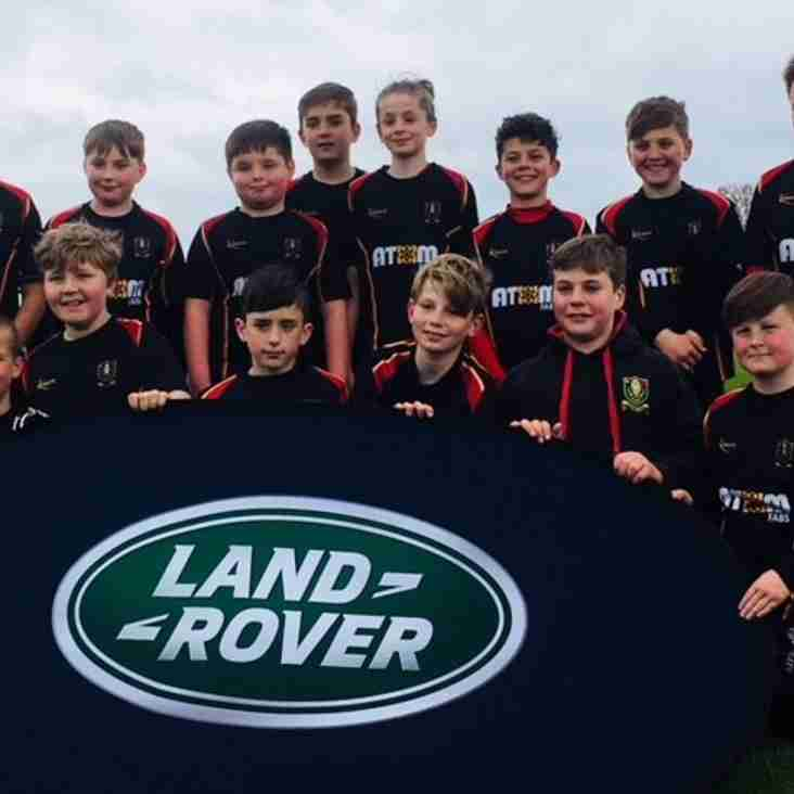 Chard RFC Under11s come away from the 2018 Landrover Cup tournament undefeated