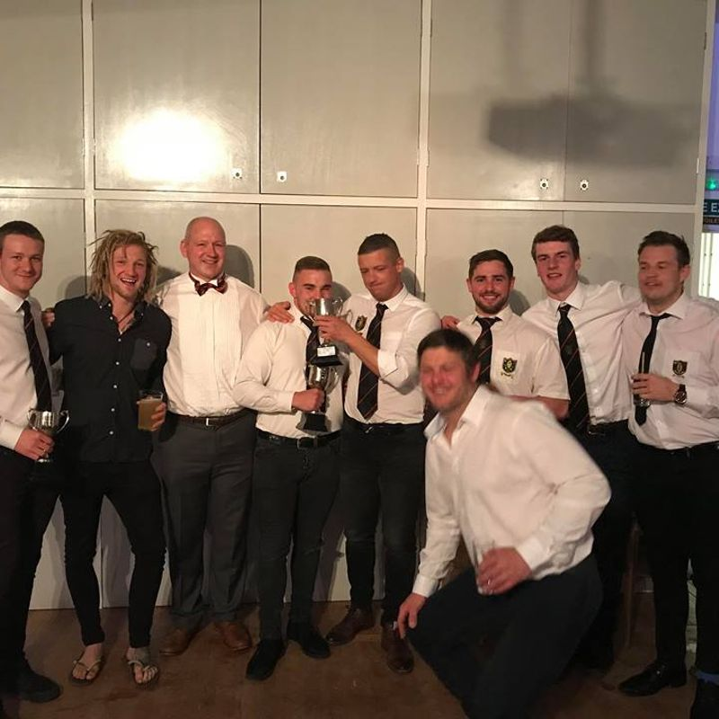 End of season awards for the senior teams