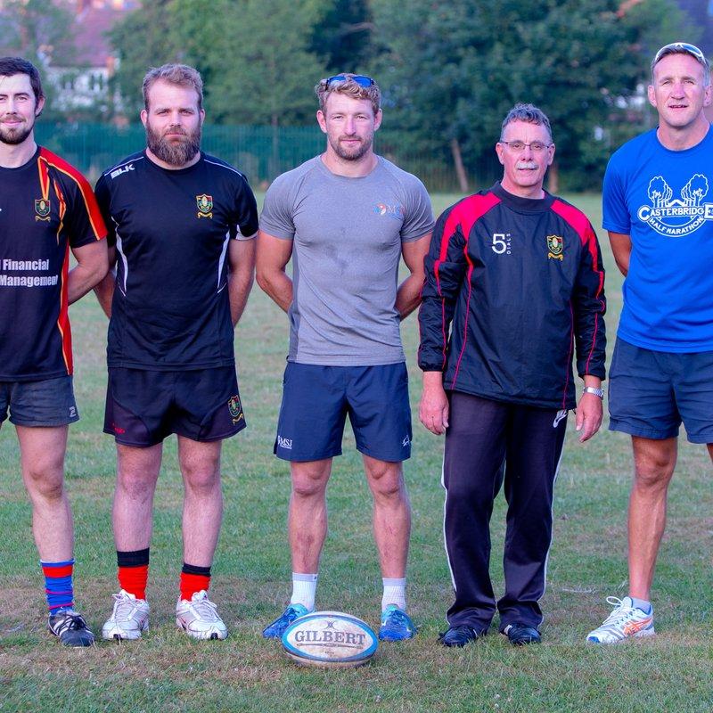 Senior men's pre season training programme.