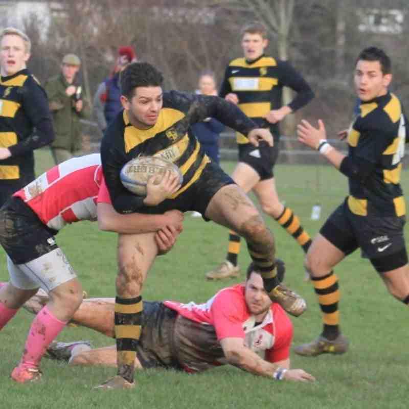 2012 8th Dec 1st vs Crowborough 2XV