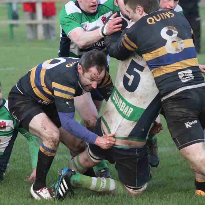 Dunbar vs Hawick - 30/1/16 Score 24-5