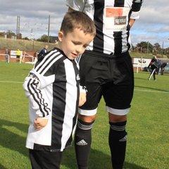 Match Day Mascot - Caleb Clark