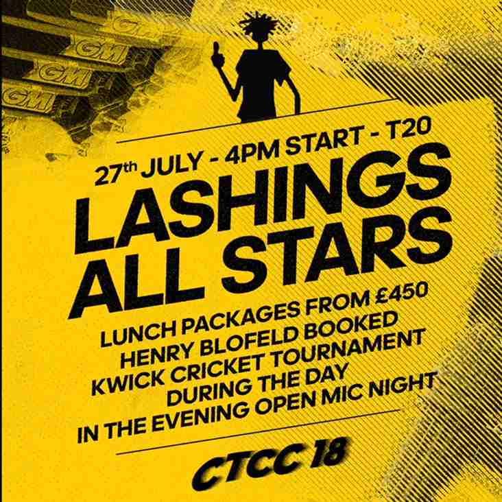 Kwik cricket at the lashings day.