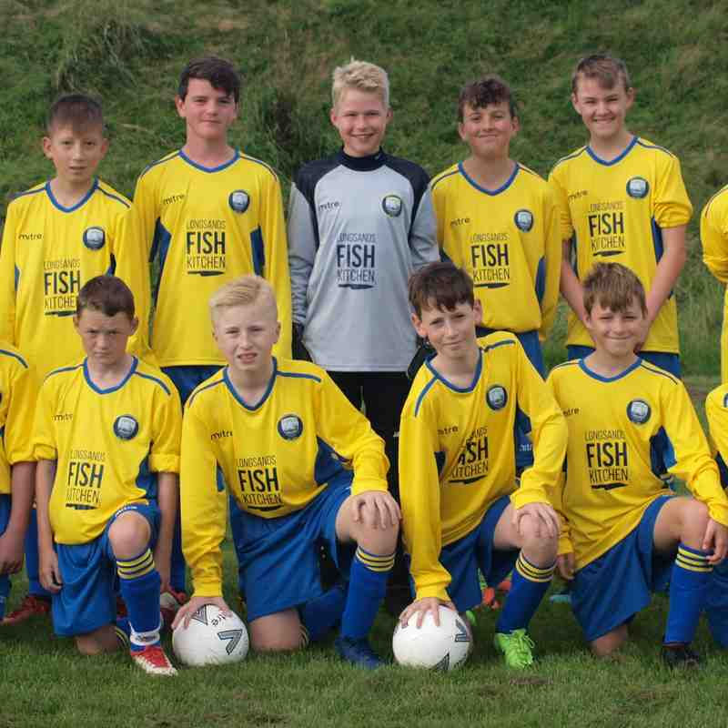 Under 13 Yellows 2018/19