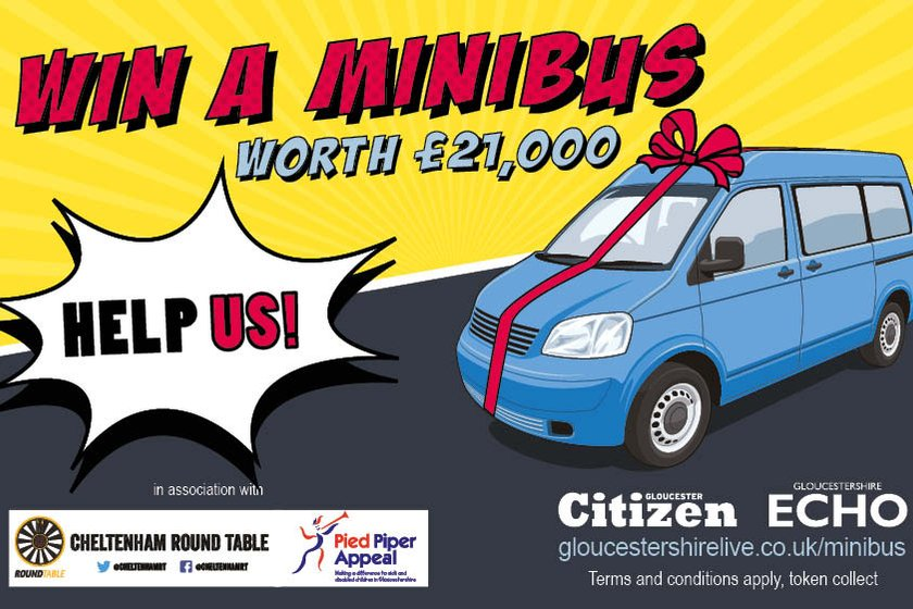 Help us win a new Mini Bus for the Club
