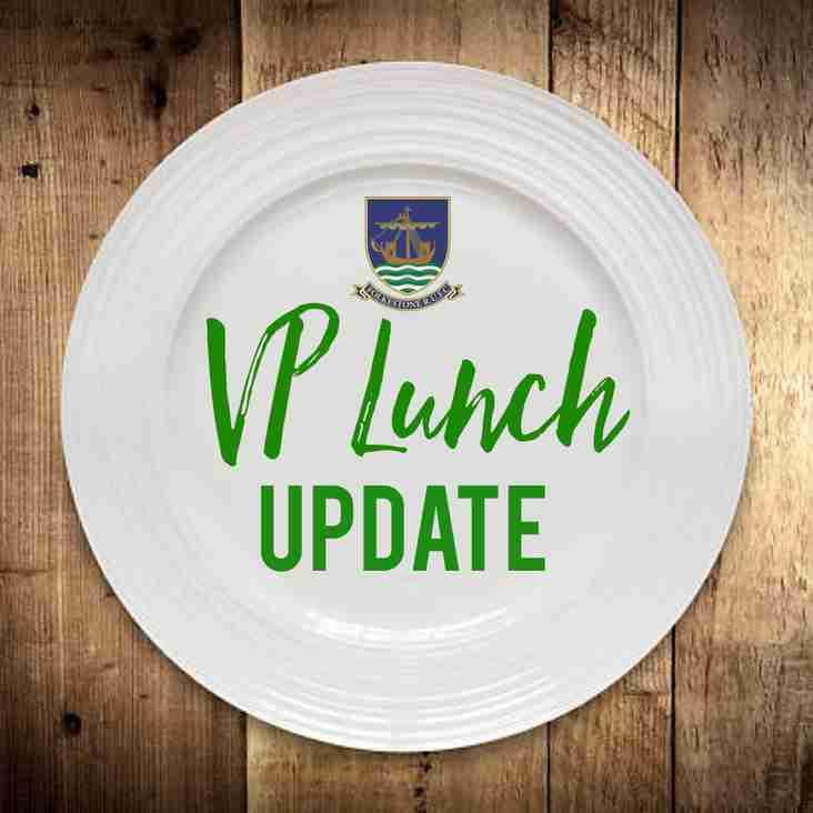 VP Lunch STILL ON!
