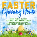 Club Closed for Easter Weekend