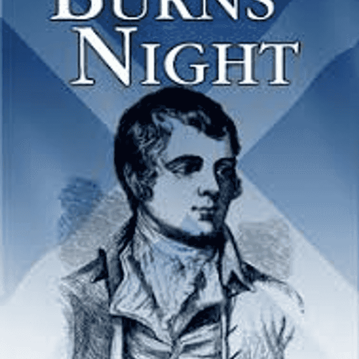 Burn's Night Dinner at the Club House on 3 February 2018
