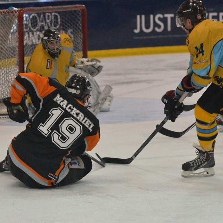 Whitley Away Date for Tigers NIHL <