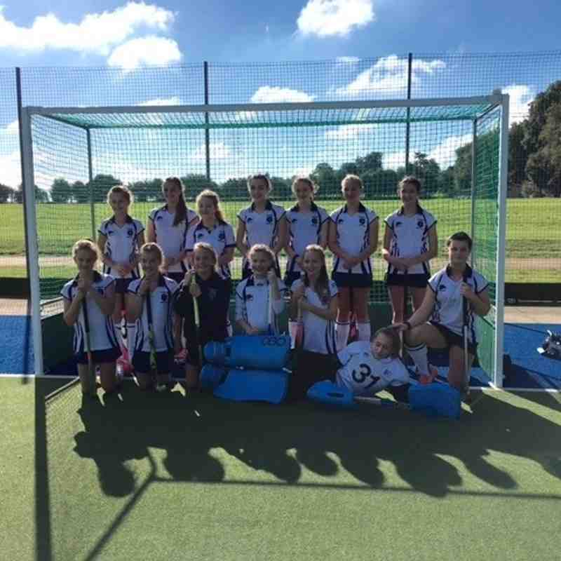 Under 14's Girls - 2 October 2016