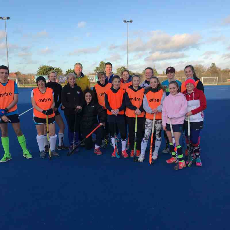New Years Day Hockey 2017