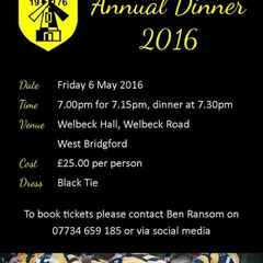 KRFC Annual Dinner 2016