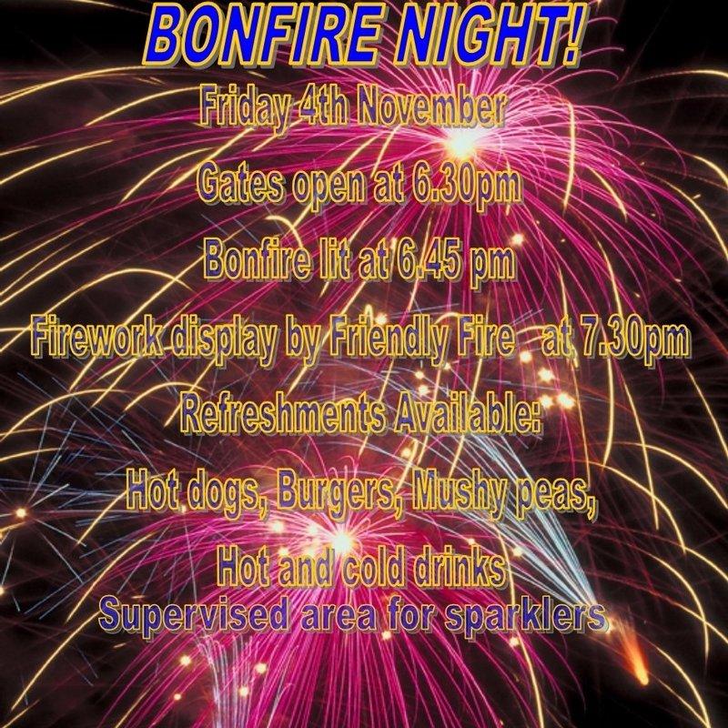 Bonfire Night Extravaganza