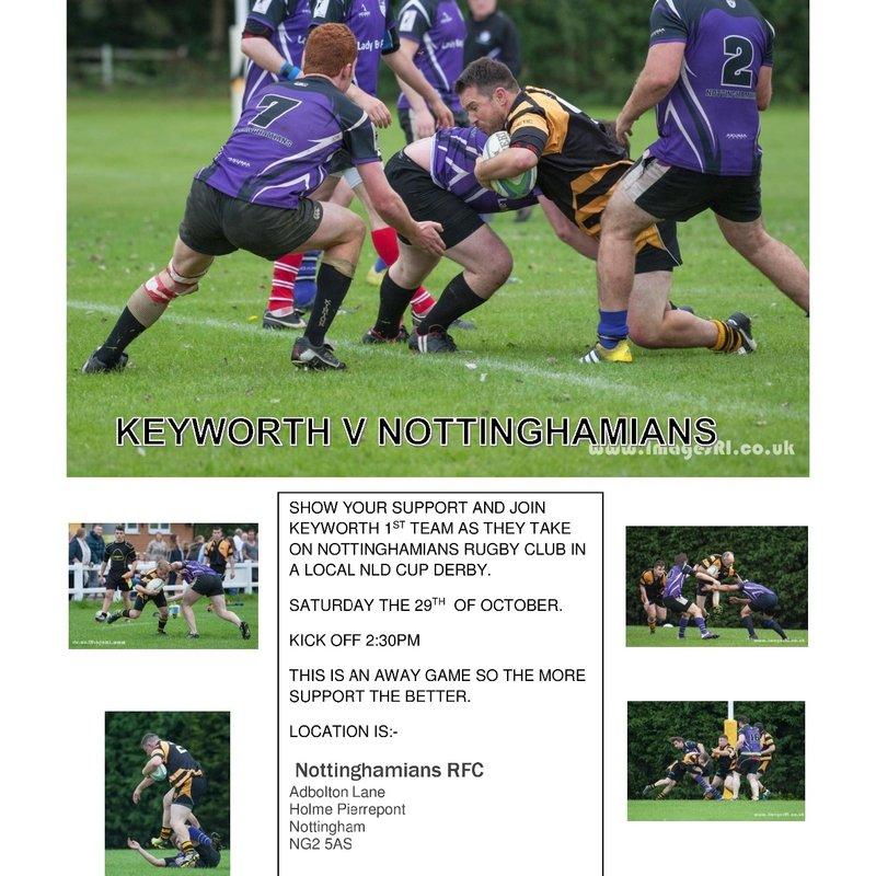Keyworth 1st v Nottinghamians 1st