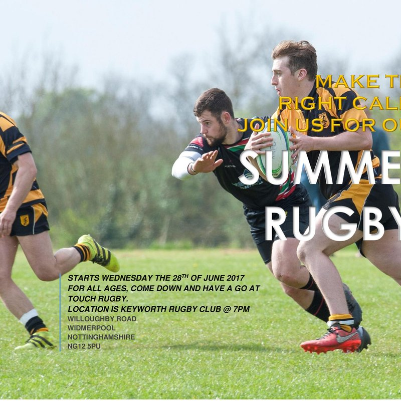 2017/18 Season kicks off with Summer Touch Rugby