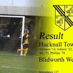 First Team v Blidworth Welfare - Sat  5 Nov 2016