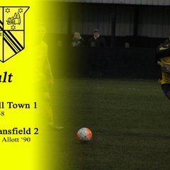 First Team vs AFC Mansfield 03-12-16