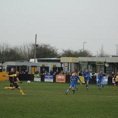1st team vs Matlock Town Res 11-03-17