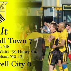 Hucknall Town vs Southwell City 8-4-17