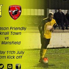 Hucknall Town vs AFC Mansfield 11-7-17