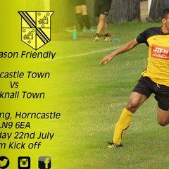 Horncastle Town vs Hucknall Town 22-7-17
