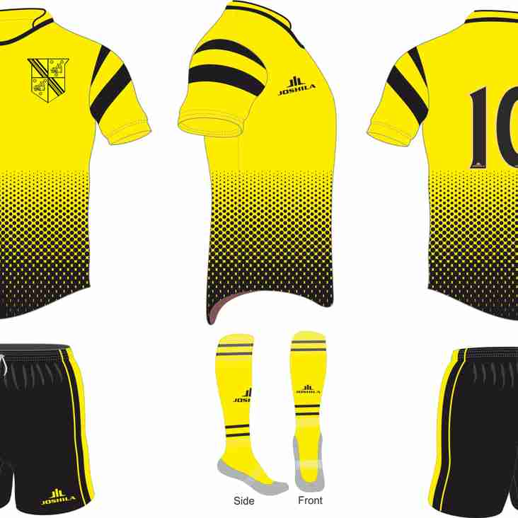 New kit for the 2017-18 season
