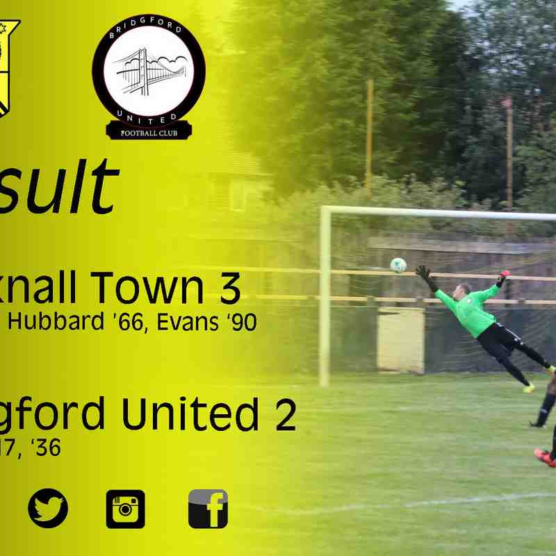 Hucknall Town vs Bridgford United 3-7-17