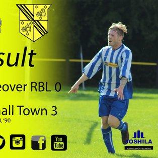 Mickleover RBL 0 Hucknall Town 3