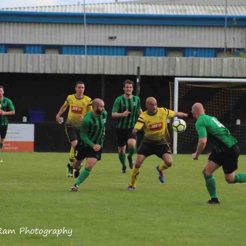 Hucknall Town vs Keyworth United 17-9-17