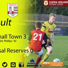 Hucknall Town vs Teversal Reserves 14-10-17